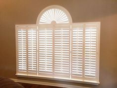 Custom plantation shutters by The Louver Shop look fantastic on this group of windows.  Give us a call today to help with your #windowcovering needs.  800-528-7866 or visit our new website - www.louvershop.com #plantationshutters #thelouvershop #windowtreatments