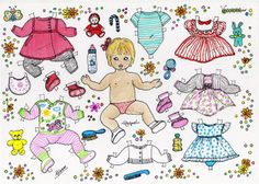 Raguel Vintage Paper Dolls, Childhood Toys, Retro Toys, Paper Toys, Art Pages, Free Paper, Doll Patterns, Baby Dolls, Doodles