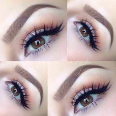 Everyday eye makeup look