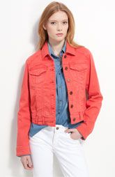 cute for spring/summer...darn...just when I thought denim jackets are out and i donate mine, they come back!