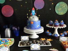 Over the top boy birthday - Space Themed!