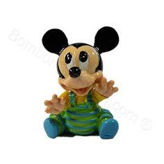 Miniatura Topolino in resina due soggetti assortiti prezzo UNITARIO #topolino #disney #bomboniere #primacomunione #faidate