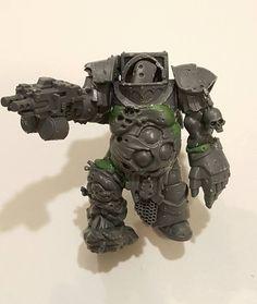 WIP Warhammer 40k | Chaos Space Marines | Converted Nurgle Terminator #warhammer…