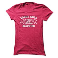 This girl is getting MARRIED T Shirts, Hoodies. Check price ==► https://www.sunfrog.com/Automotive/This-girl-is-getting-MARRIED-Ladies.html?41382