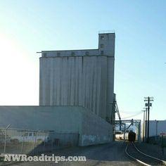 #GrainElevators in #Wenatchee, #Washington   #Agriculture #Farming #GrainSilo #EasternWashington #RoadTrip #NWRoadtrips