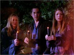 Anya, Xander and Tara witness Willow's trials to resurrect Buffy