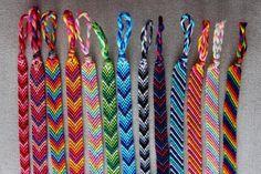 Chevron Friendship Bracelet/Candy Stripe Bracelet/String Bracelet/Woven Bracelet Summer Bracelets, Cute Bracelets, Ankle Bracelets, Friend Bracelets, Thread Bracelets, String Bracelets, Homemade Bracelets, Diy Friendship Bracelets Patterns, Bracelet Crafts