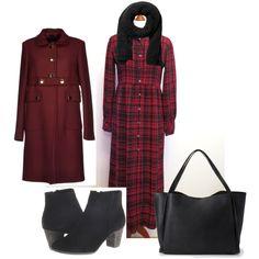 """tartan maxi dress for autumn/winter"" by sekenhunter on Polyvore"