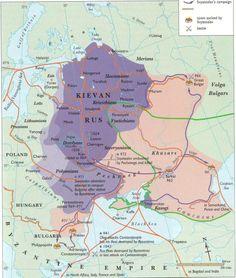 Svyatoslav's Campaigns 965-1024