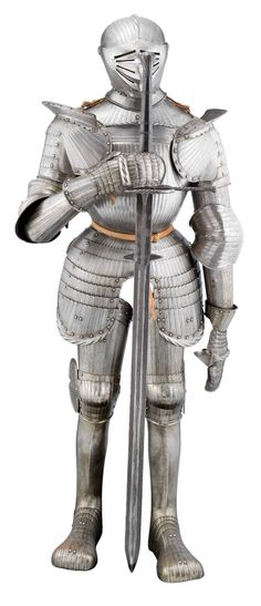 A HEAVY FIELD ARMOUR IN THE GERMAN `MAXIMILIAN` STYLE OF CIRCA 1520, PROBABLY SOUTH GERMAN, 19TH CENTURY