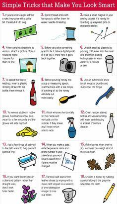 Simple Tricks That Make You Look Smart!!!! #Various #Trusper #Tip