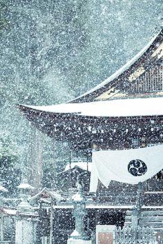 """"""" 雪の近江八幡 2014.12.18 by yako ma """" Himure-Hachiman-Guu Shrine in Snow. Ohmi-Hachiman, Shiga-Ken, Japan."""