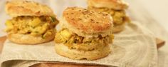 This curried spin on chicken & biscuits is just what your stomach is craving!