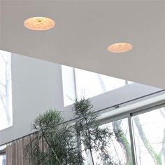 Skygarden Recessed fits seamlessly into this sunlit, natural interior.