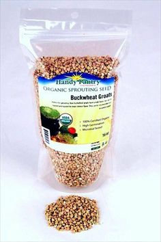 Hulled Buckwheat Groats- 1 Lbs - Organic Buck Wheat Groats- Sprouting Seed, Gardening, Planting, Edible Seeds, Emergency Food Storage, Hydroponics - http://goodvibeorganics.com/hulled-buckwheat-groats-1-lbs-organic-buck-wheat-groats-sprouting-seed-gardening-planting-edible-seeds-emergency-food-storage-hydroponics/