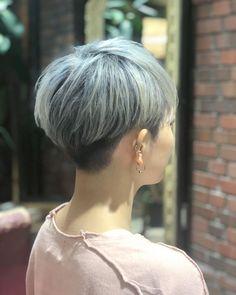 Pin on ヘアスタイル Tomboy Hairstyles, Undercut Hairstyles, Cute Hairstyles, Short Hair Cuts, Short Hair Styles, Pixie Haircut Styles, Girl Short Hair, Short Hairstyles For Women, About Hair