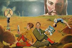 """""""Proof of Life on Mars"""" (SOLD), by Collage-a-Dada's Shawn Marie Hardy"""