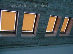 Galerie Rolete Mansarda Cluj | Lexundros Garage Doors, Outdoor Decor, Home Decor, Decoration Home, Room Decor, Home Interior Design, Carriage Doors, Home Decoration, Interior Design