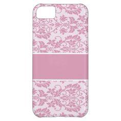 Elegant  damask iPhone 5 case