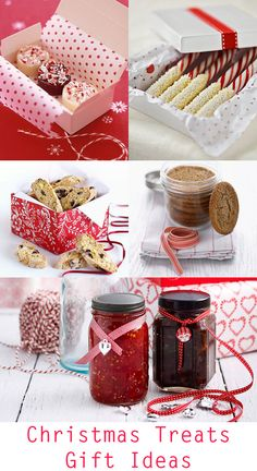Christmas treats for gifts: I love Christmas