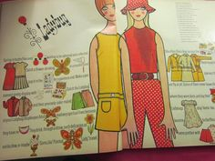 Ladybug Fashions From the '60's And '70's - So cute, so preppy ~