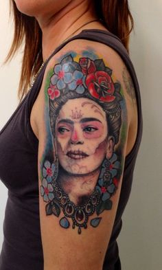 #frida #tattoo @mauro0582