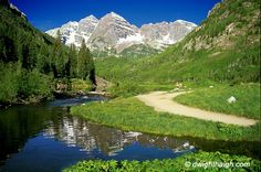 Maroon Bells, Aspen Colorado. Jeff and I hiked among the wildflowers ... one of the most beautiful hikes I have ever been on.