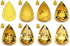 """Soshiki on Twitter: """"not really a tutorial but have some progress shots of a gem study I did today… """" Digital Painting Tutorials, Digital Art Tutorial, Art Tutorials, Digital Paintings, Gem Drawing, Drawing Faces, Drawing Tips, Drawing People, Jewelry Design Drawing"""