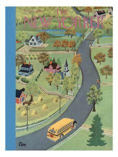 The New Yorker Cover - September 9, 1950 Premium Giclee Print