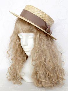 Shop In Wonderland - Victorian Maiden Ribbon Tulle Straw Hat, $48.95 (http://shopinwonderland.com/victorian-maiden-ribbon-tulle-straw-hat/)