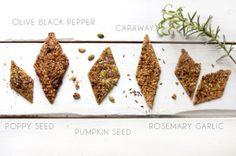 DIY gluten-free vegan crackers | ByzantineFlowers