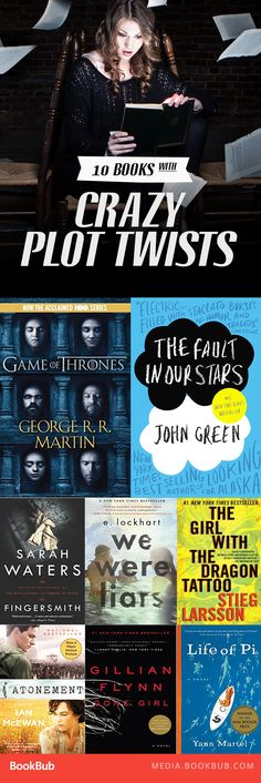 These books, featuring crazy exciting plot twists, will keep you reading all night!
