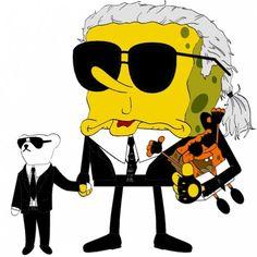 SpongeBob Goes Fashion (Illustration)