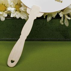 Eco - Wooden Ornate Handles for Hand Fans - Weddingstar
