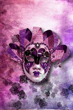 Venetian Masquerade Masks | Venetian mask by Meeeeeeeeeerlin