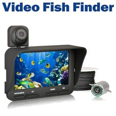 98.31$  Buy now - http://alicdx.worldwells.pw/go.php?t=32609679903 - Dual Lens 2.0 Mega Pixels Night View Underwater Fishing Camera Recorder for 720P LCD Display 20m Cable Fish Finder DVR 20M Cable