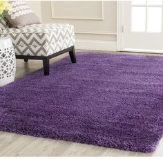 Zipcode Design Douglasville Purple Area Rug Rug