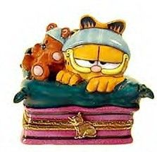 Garfield trinket box {hinged}