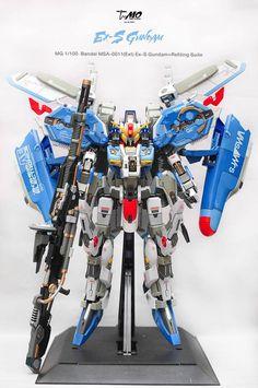 MG Ex-S Gundam [+ ชุดแต่งเกราะครับ]  Work by T-MO. Full Photo Review http://www.gunjap.net/site/?p=247623