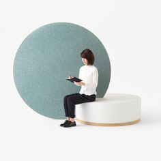Nendo designs rolling office partitions to aid creativity                                                                                                                                                                                 More