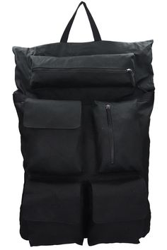 Shop Raf Simons Black Nylon Backpack from stores. black nylon backpack, top handle, frontal pockets with zip, print on backsideComposition: Tech/synthetic Black Backpack, Backpack Bags, Raf Simons, Black Nylons, Backpacks, Mens Fashion, Zip, Shopping, Moda Masculina