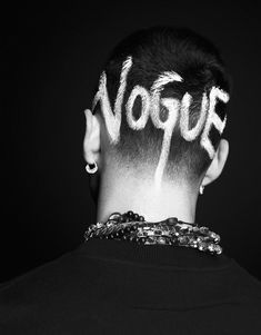 Allen Taylor photographed and styled by Nicola Formichetti for the cover story of the Spring/Summer 2012 issue of Vogue Hommes Japan.