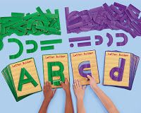 Awesome!! your own printables of letter builders, just like the handwriting without tears stuff! :)