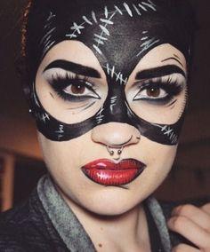 Catwoman Kostüm selber machen   Kostüm Idee zu Karneval, Halloween & Fasching