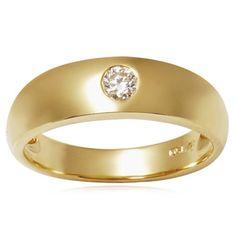 http://dyal.net/gold-wedding-rings-for-men 18k Yellow Gold Wedding Band For Men