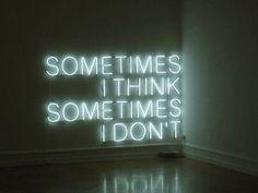 Quite often the latter...