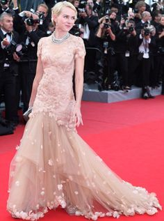 Naomi Watts in Marchesa at cannes 2012