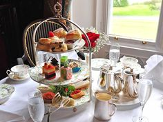 Afternoon Tea Limerick, Afternoon Tea Hotels in Clare - Dromoland Castle Hotel