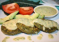 Falafel burgers w/ tahini sauce, ~ Reboot with Joe ! { totally vegan, dairy free, gluten free, & soy free}