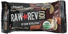 Raw Revolution 100 Calorie Organic Live Food Bar  Chocolate Crave 08 Ounce Pack of 20 *** Find out more about the great product at the image link. (Note:Amazon affiliate link)